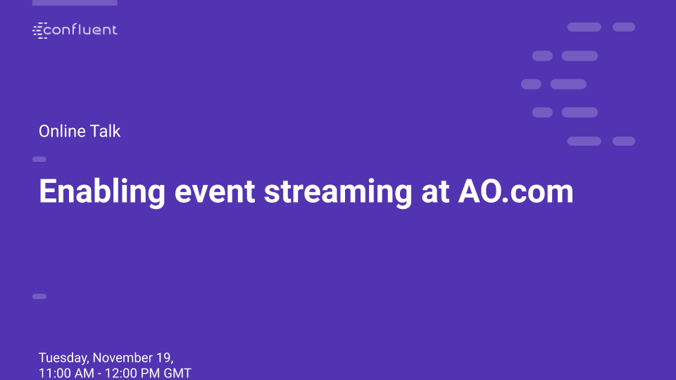 Enabling event streaming at AO.com