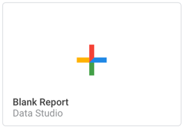 Blank Report Data Studio