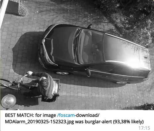 BEST MATCH: for image /foscam-download/ MDAlarm_20190325-152323.jpg was burglar-alert (93,38% likely) 17:15