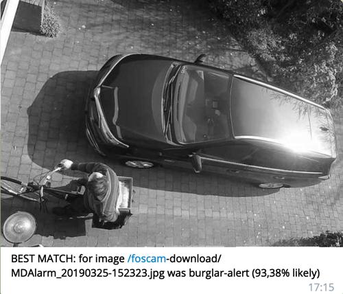 BEST MATCH: for image /foscam-download/ MDAlarm_20190325-152323.jpg was burglar-alert (93,38% likely) 17:15