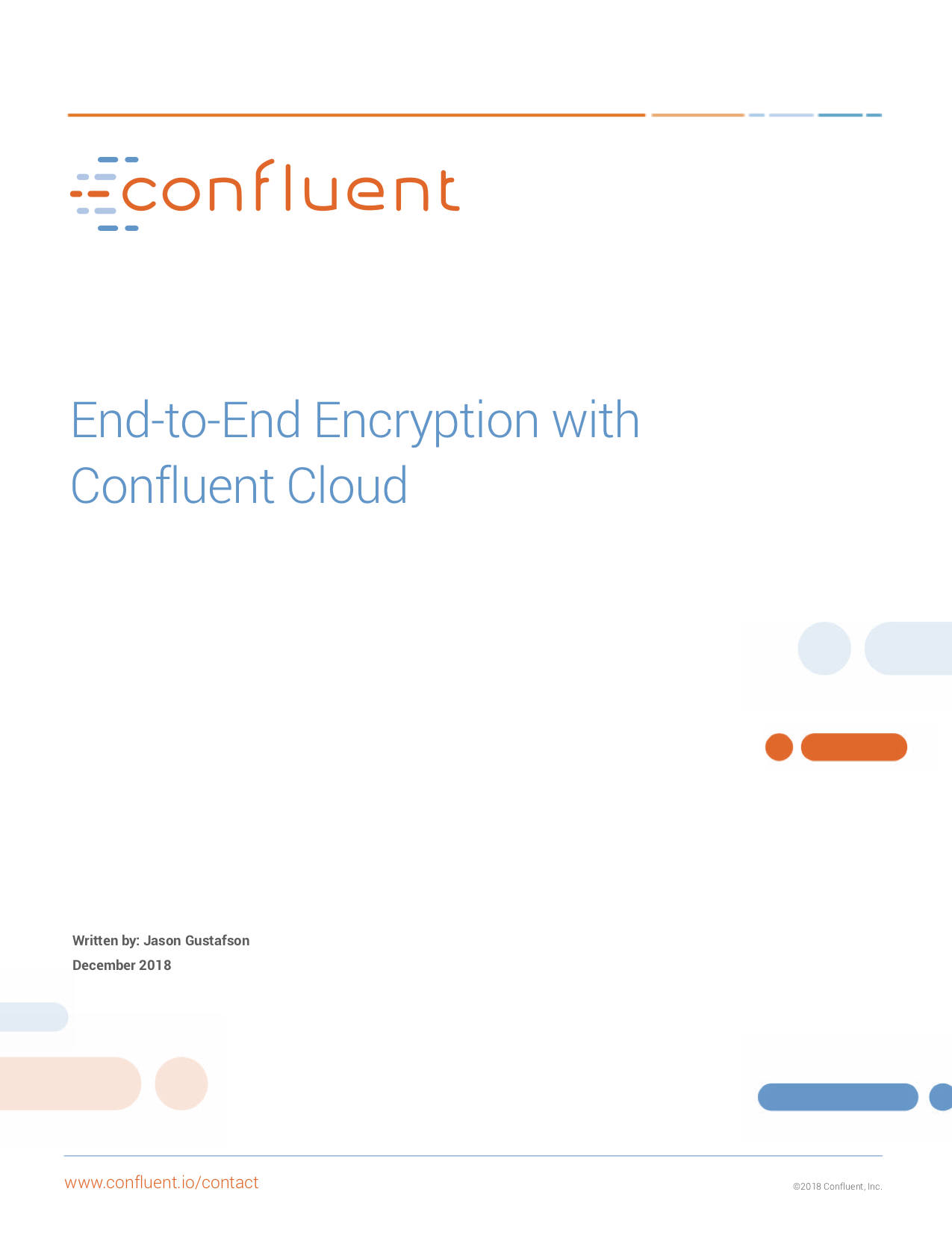 End-to-End Encryption with Confluent Cloud