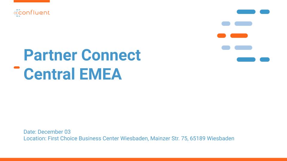 Central EMEA Partner Connect