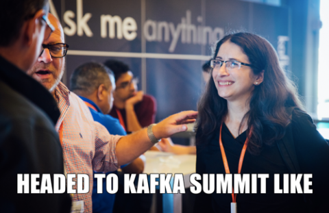 Gwen Shapira headed to Kafka Summit like