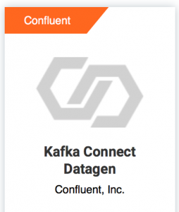 Kafka Connect Datagen connector
