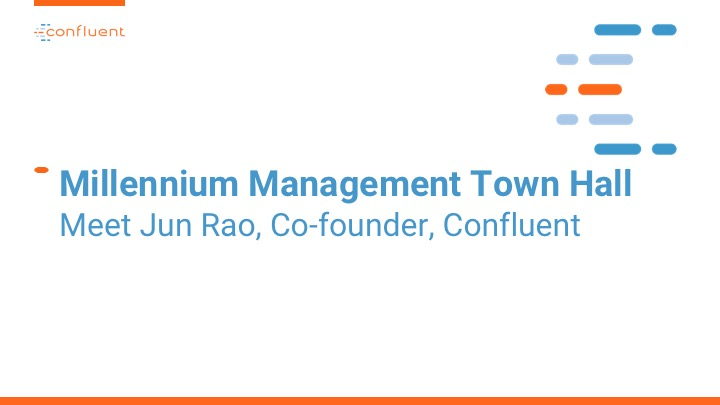 Millennium Management Town Hall