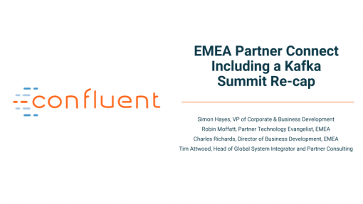EMEA Partner Connect Including a Kafka Summit Re-cap