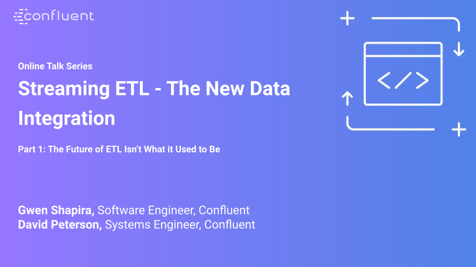 The Future of ETL Isn't What It Used to Be