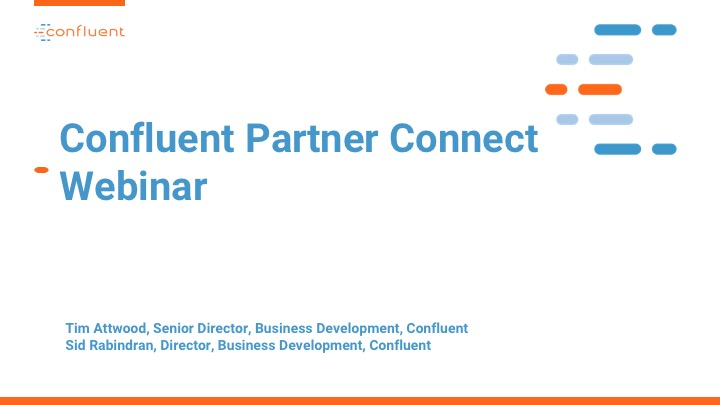Partner Connect Webinar: Program Update