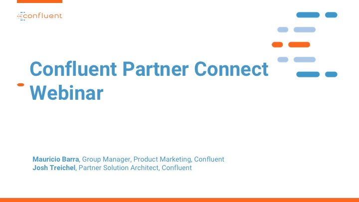 Partner Connect Webinar: Product Release Update