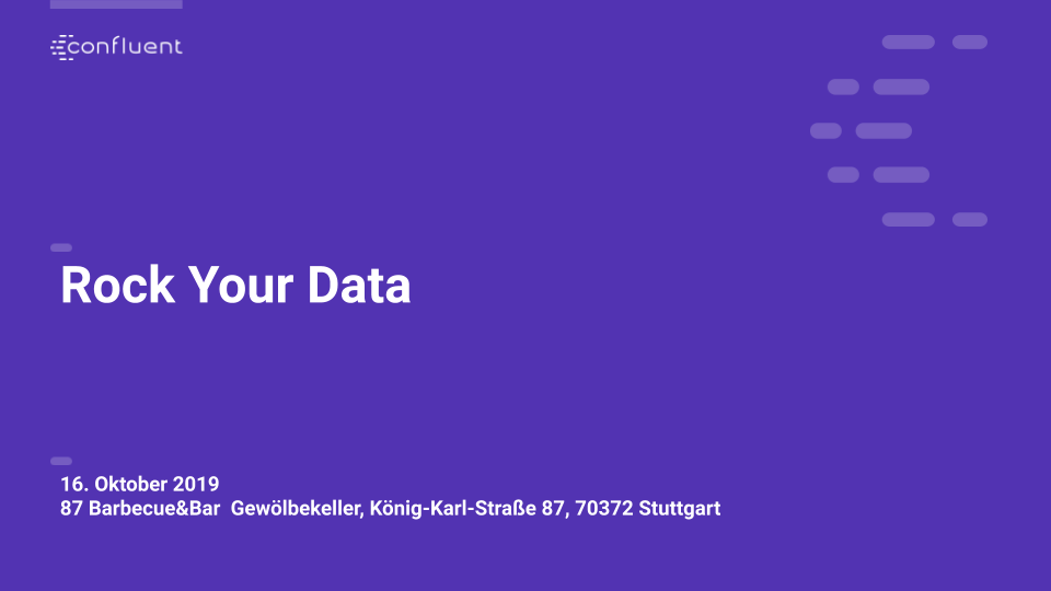 Rock Your Data – Stuttgart