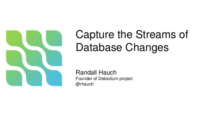 Capture the Streams of Database Changes