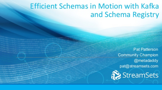 Efficient Schemas in Motion with Kafka and Schema Registry