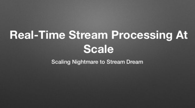 From Scaling Nightmare to Stream Dream : Real-time Stream Processing at Scale