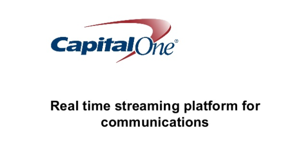 Real Time Streaming Platform for Communications and Beyond