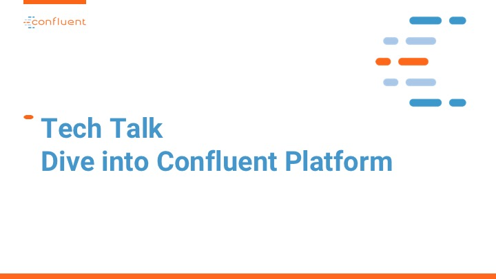 Johnson and Johnson Virtual Tech Talk Hosted by Confluent