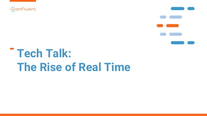 Iron Mountain Virtual Tech Talk  Hosted by Confluent