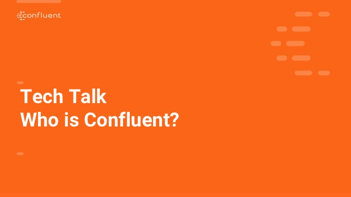 T-Mobile Tech Talk, Hosted by Confluent