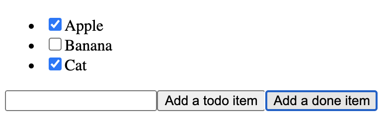 """Added """"Cat"""" to the TodoList"""