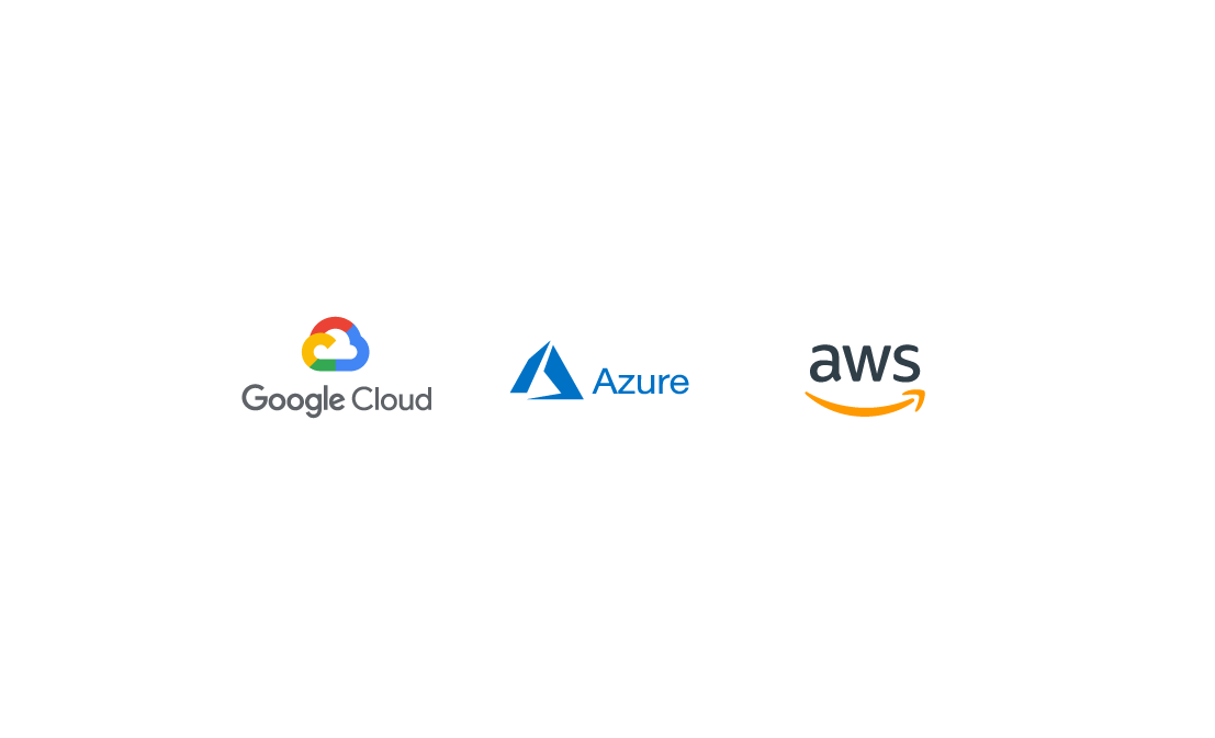 hero image of cloud, azure, aws logos