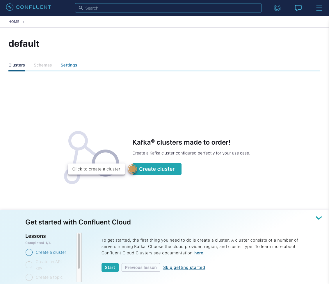 Kafka clusters made to order! Create a Kafka cluster configured perfectly for your use case.