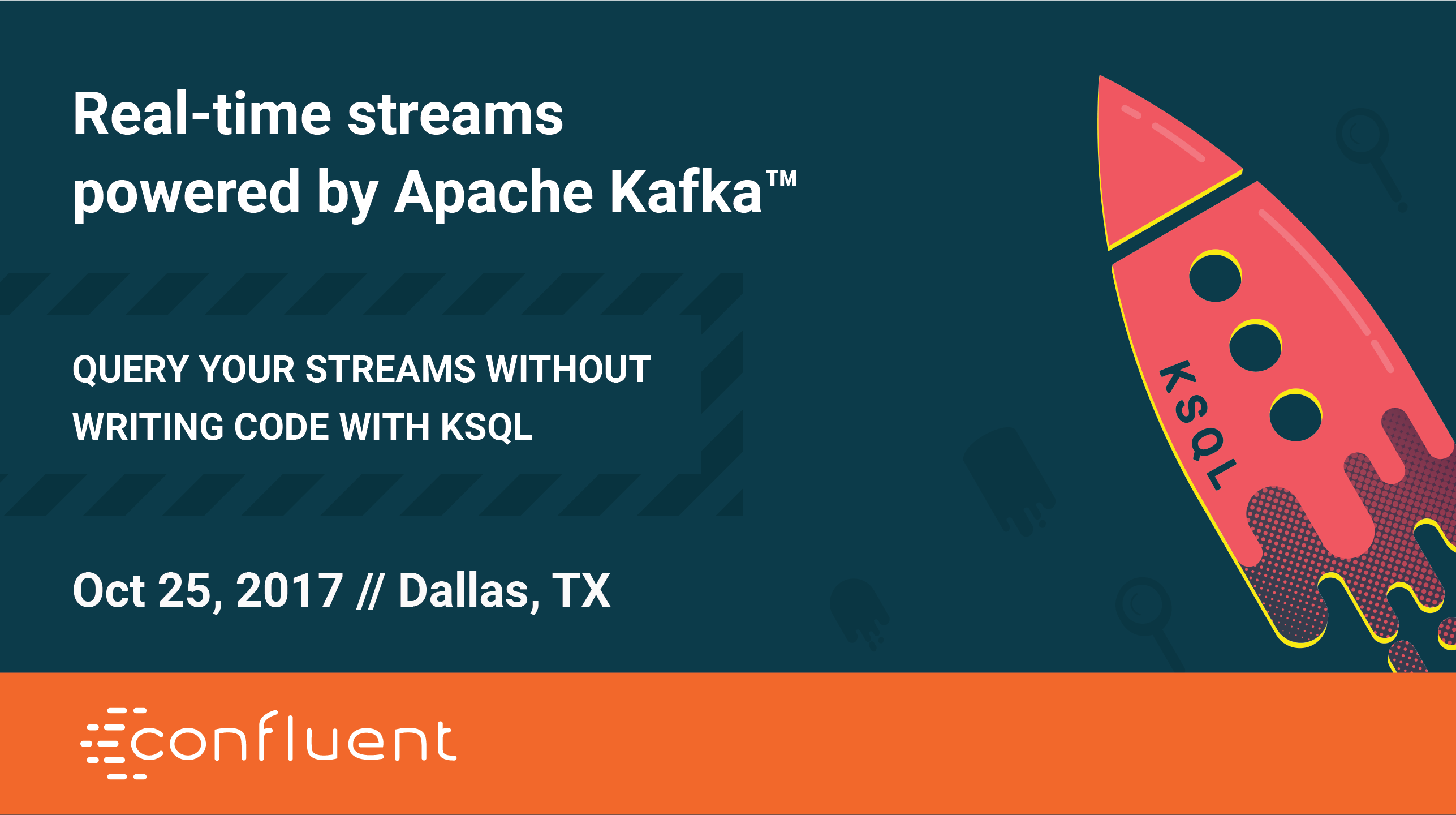 Build a Streaming App: Apache Kafka and KSQL Workshop