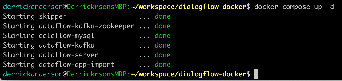 workspace/dialogflow-docker