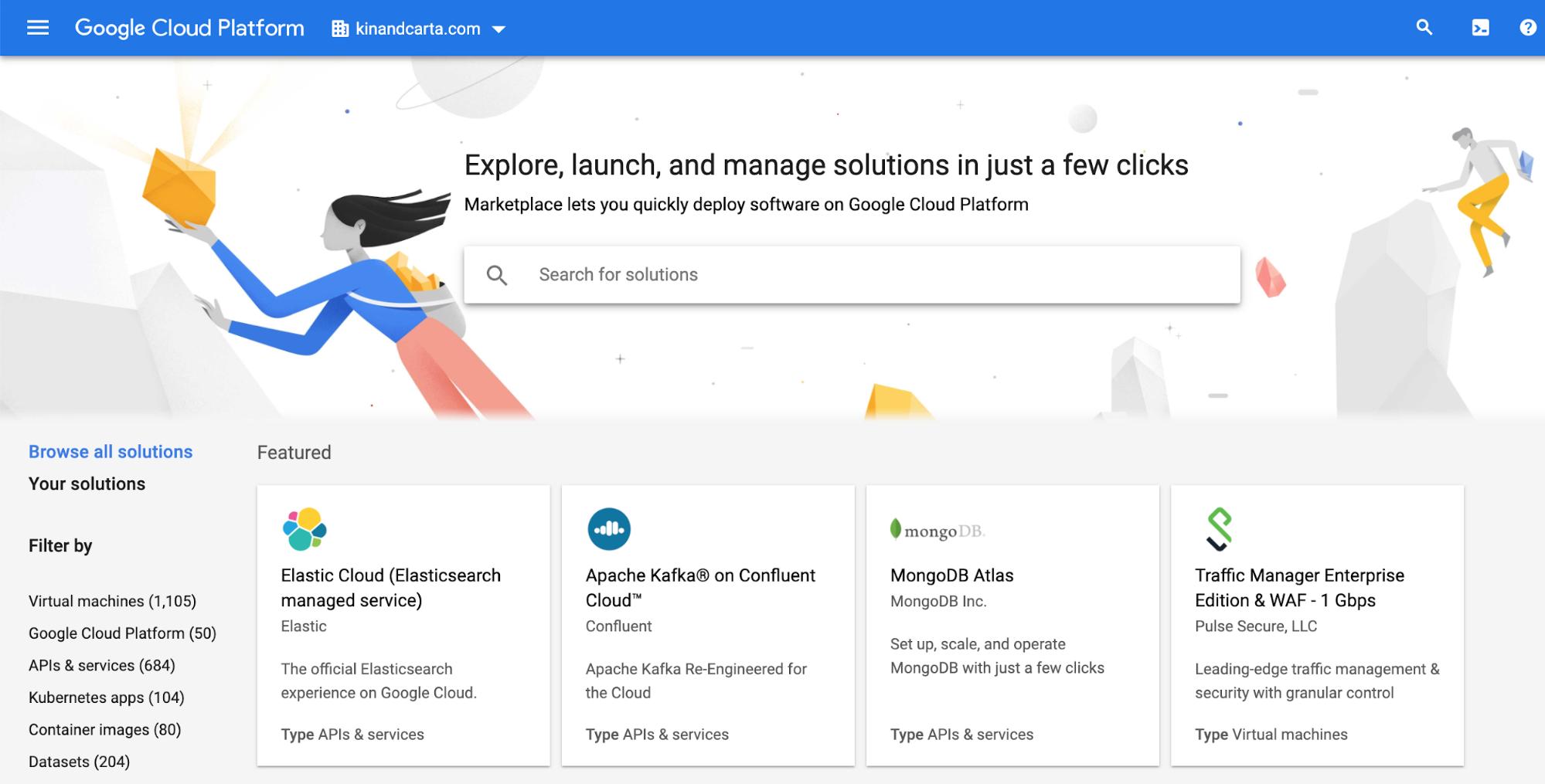 Google Cloud Platform: Elastic Cloud