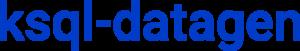 ksql-datagen