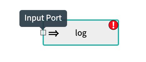 Input Port log