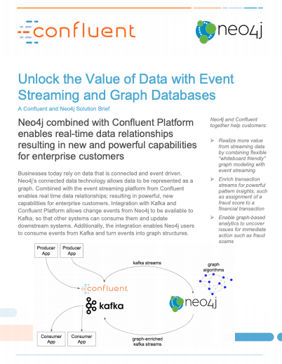 Event Streaming and Graph Databases - Neo4j and Confluent