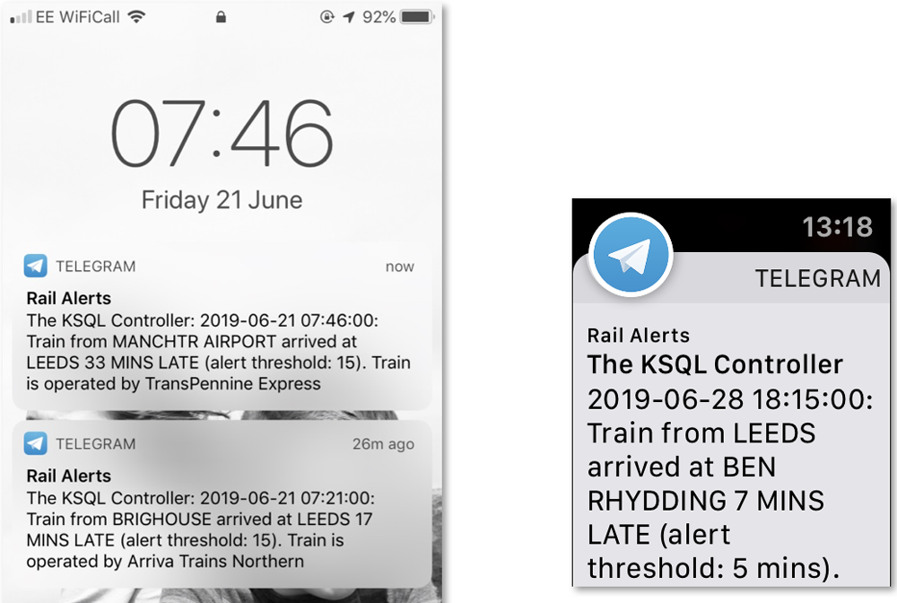 Rail Alerts