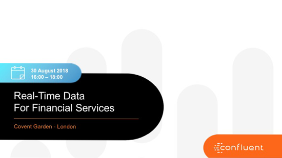 Real-Time Data for Financial Services
