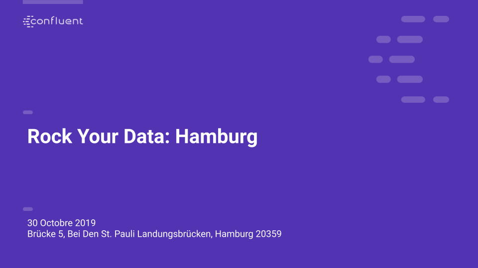 Rock Your Data – Hamburg