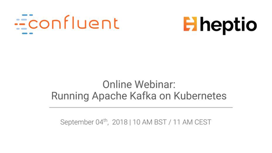 Running Apache Kafka ® on Kubernetes