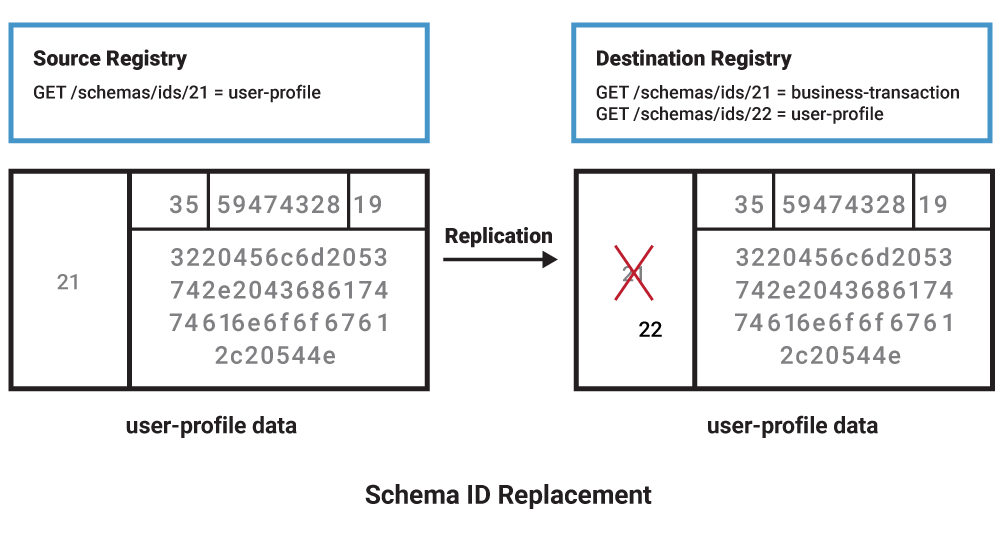 Schema ID Replacement