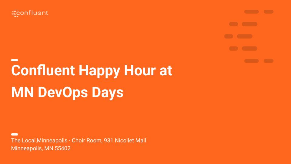 Happy Hour at MN DevOps Days