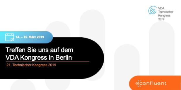Treffen Sie uns auf dem  VDA Kongress in Berlin